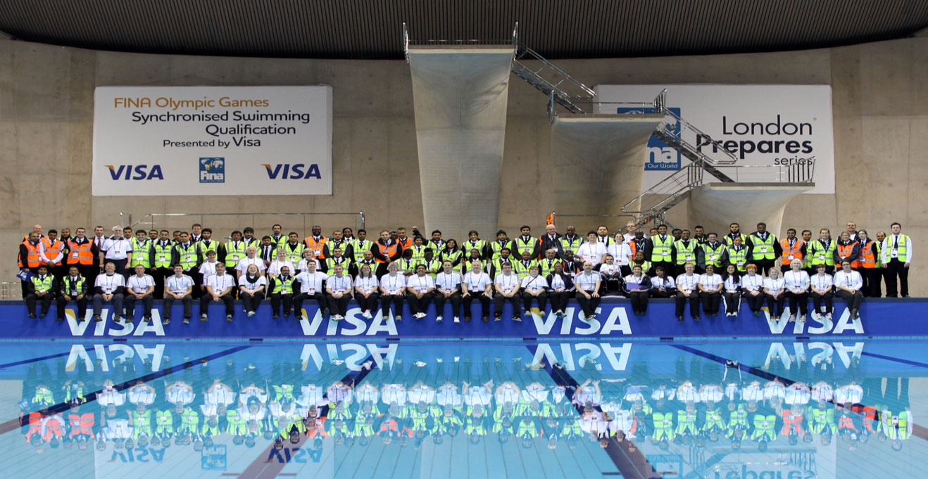 London Swimming Security Staff